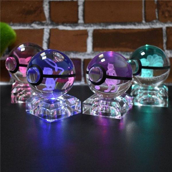 Pin By Summer Bentley On Pokemon In 2020 Led Light Lamp 3d Crystal Lamp Light