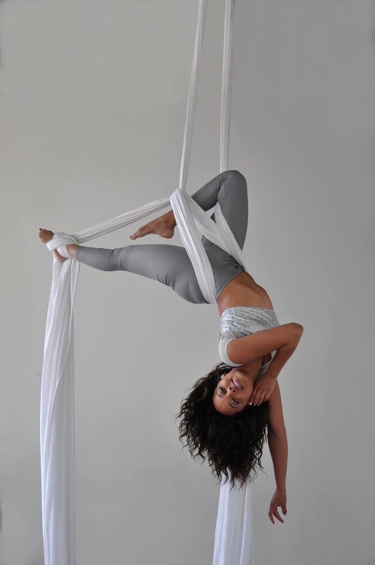 Alicia Dixon from Inspire Angels Aerial Troupe. Photo by Kimberly Sende