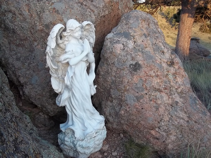 Angel in the rocks of Livermore