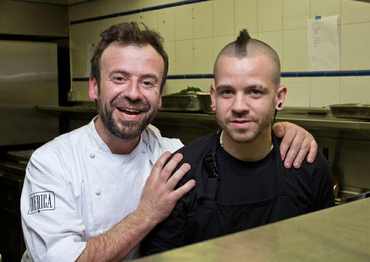 David Munoz & Nacho Manzano work together for The Royal Automobile Club member's dinner