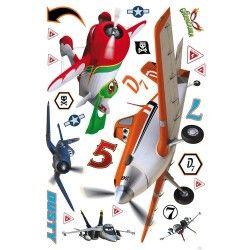 maxi planes sticker by fantastick wall art #fantastick #onyourwall #wallart #sticker #home #deco #disney