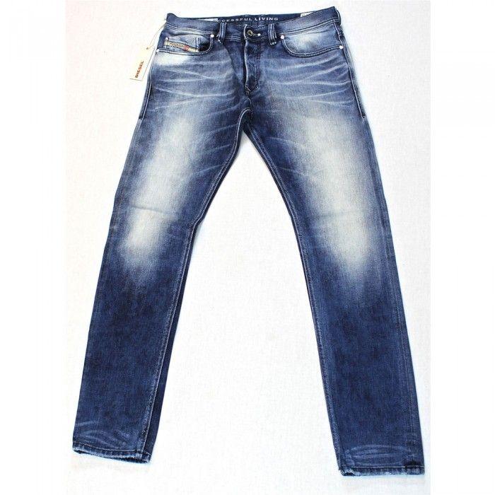 Diesel Tepphar 887V Mens Jeans | DNA | Dirty New Age | Light Time Exposure | 0887V | Skinny | Carrot | Diesel Jean Sale | UK | Designer Man