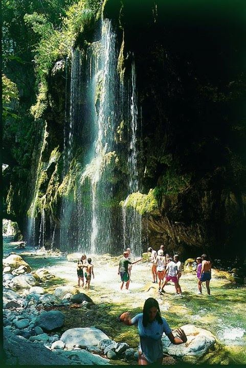 Panta vrechi (meaning: where it always rains) canyon in Evrytania ~ Central Greece