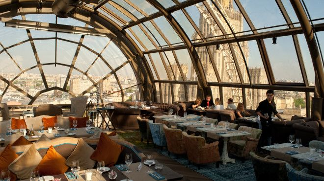 Time Out Where to Eat and Drink in Moscow (this is a pic of White Rabbit, Smolenskaya Square, Moscow)