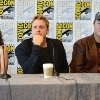 Adam Baldwin, Alan Tudyk and Summer Glau at event of Firefly