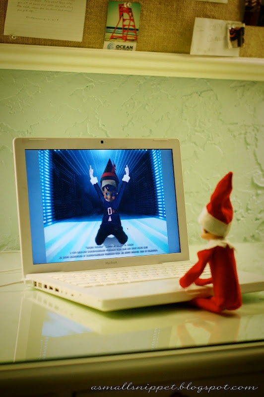 A Small Snippet: Elf (make an   Elf Yourself video with Charlie)
