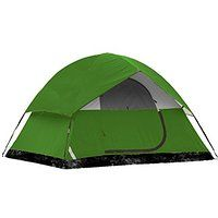 Cheap price LevelOne Two Person Camping Tent with Rainfly (Green) sale