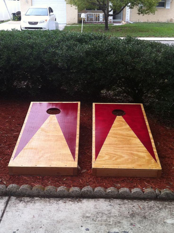 cornhole boards cool ideas pinterest