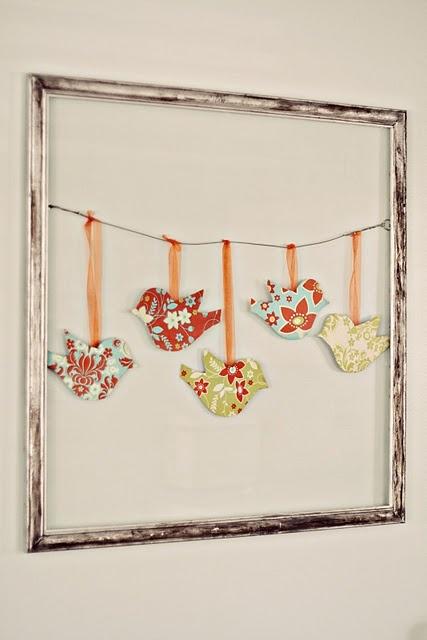 girls room fuchsia,turquoise, pink, aqua.   need frame, paper, ribbon.