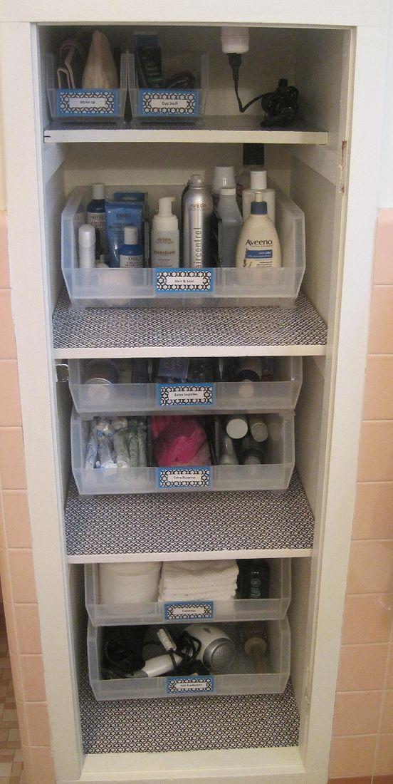 Neat Little Nest: #Linen Closet #Organized #DIY