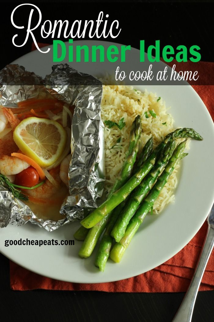 Easy recipes for romantic meals
