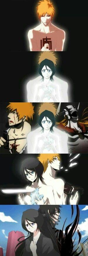 Bleach - Ichigo and Rukia