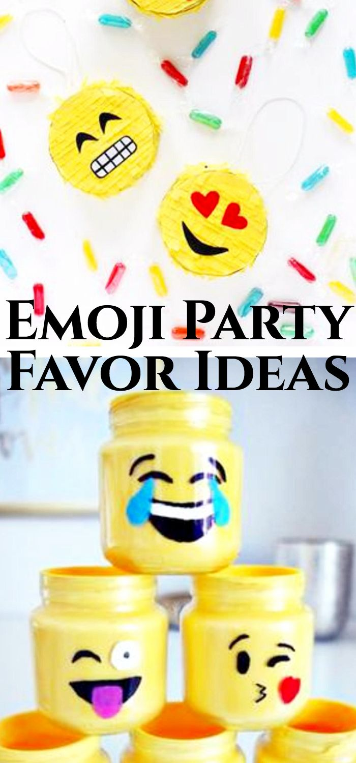 Emoji Birthday Party Favors Find The Best Theme Supplies And Ideas For Your Next Girls Or Boys Bday Is A Fun