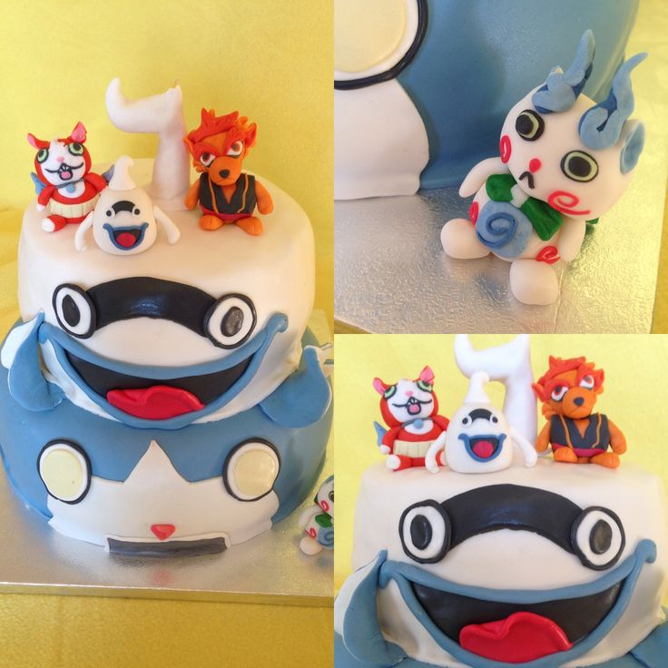 Torta compleanno yo-kai