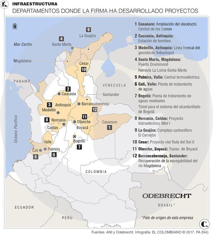 Las megaobras de Odebrecht, tras 24 años en Colombia