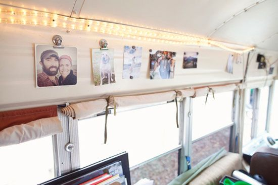 Magnet clips  Inspiration: Living in a Bus