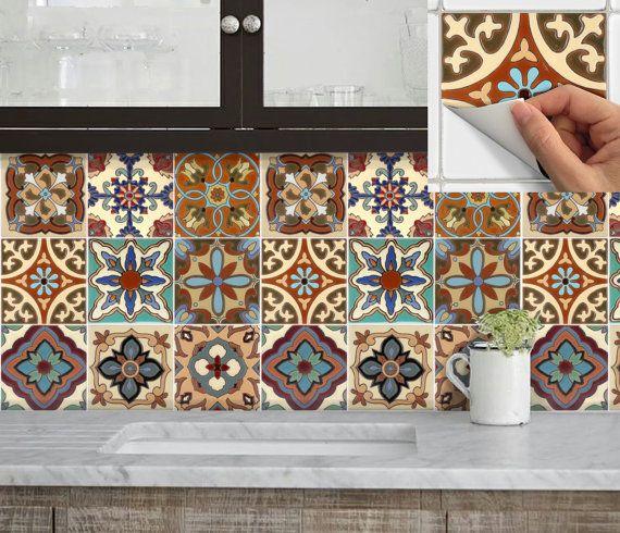 Cucina bagno mattonelle adesivi vinile adesivo: spagnolo