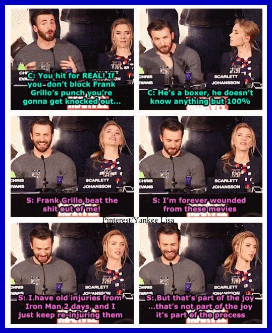 Chris Evans - Captain America: The Winter Soldier - Marvel's The Avengers