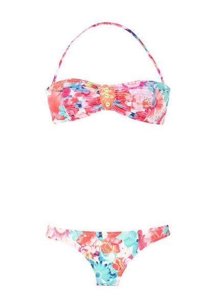 Flower Bathing Suit