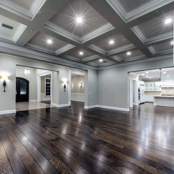 Top 50 Best Coffered Ceiling Ideas – Versunkene Pa…
