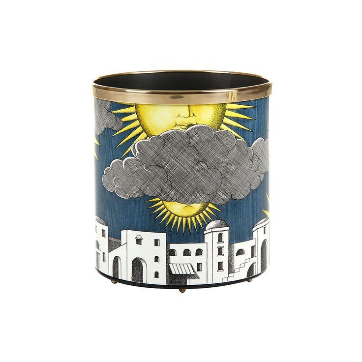 Discover+the+Fornasetti+Sole+di+Capri+Paper+Basket+at+Amara