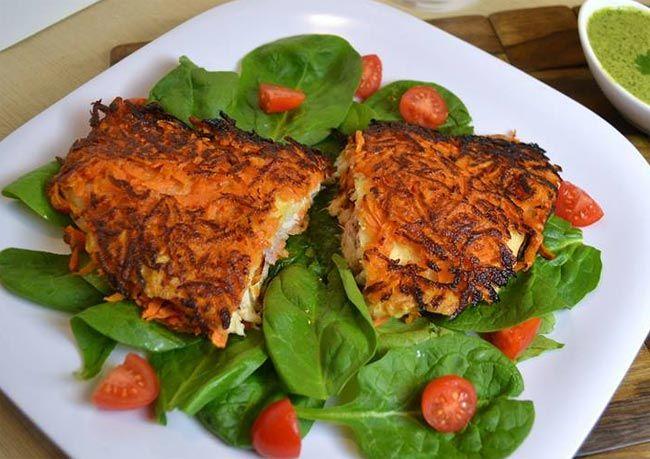 Uncsi a roston halfilé? Itt egy szuper édesburgonyás sült hal recept neked.