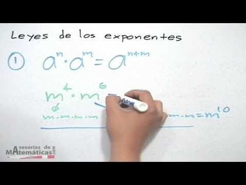 Leyes de los exponentes - HD - YouTube