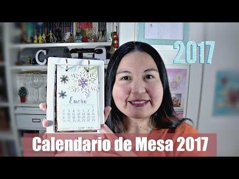 Calendario de Escritorio 2017 | Plantillas descargables gratis - YouTube