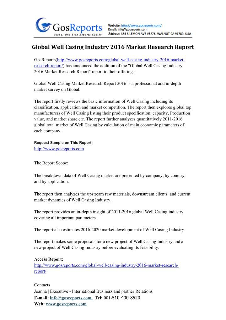 Global IP Video Surveillance Software Industry 2015 Market - survey report sample
