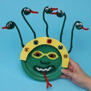 Medusa crafts for kids - Google Search