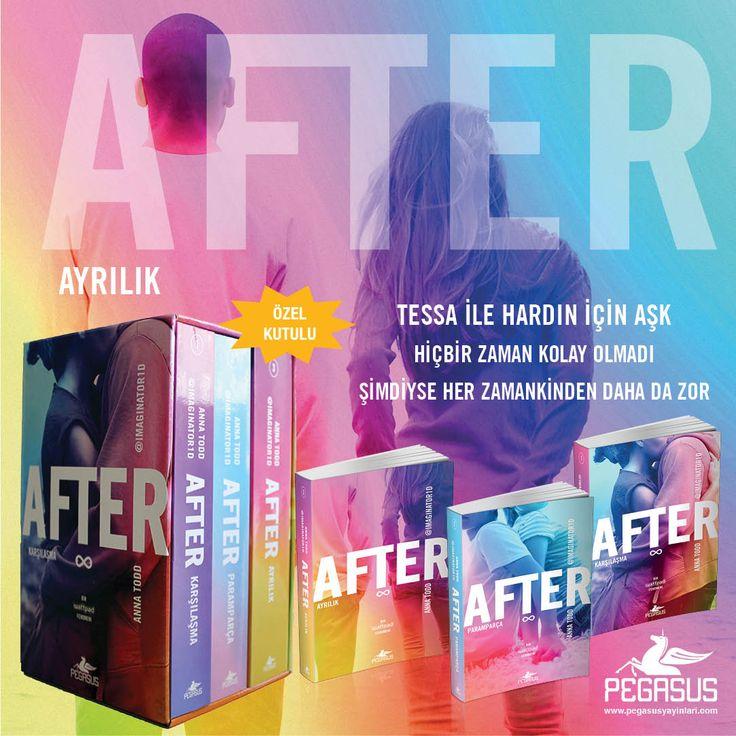 #YENİ  AFTER SERİSİ Kutulu Özel Set (3 Kitap)  - ANNA TODD  Çeviri: Selim Yeniçeri & Gülce Arman Bayrakçı / Romantik / 2016 Sayfa  Set içindeki kitaplar;  * After Karşılaşma * After Paramparça * After Ayrılık  22 Mayıs'ta kitapçılarda!  İncelemek ve satın almak için: http://urun.n11.com/roman/after-serisi-kutulu-ozel-set-3-kitap-P185046065?utm_content=buffer9a7c3&utm_medium=social&utm_source=pinterest.com&utm_campaign=buffer