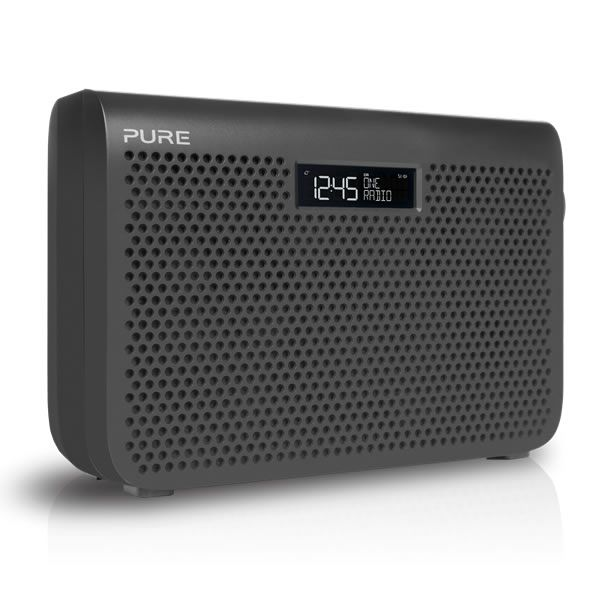 Pure ONE MIDI SERIES3 GRAPHITE Portable DAB/DAB  Radio LARGE Display Graphite http://www.MightGet.com/january-2017-13/pure-one-midi-series3-graphite.asp