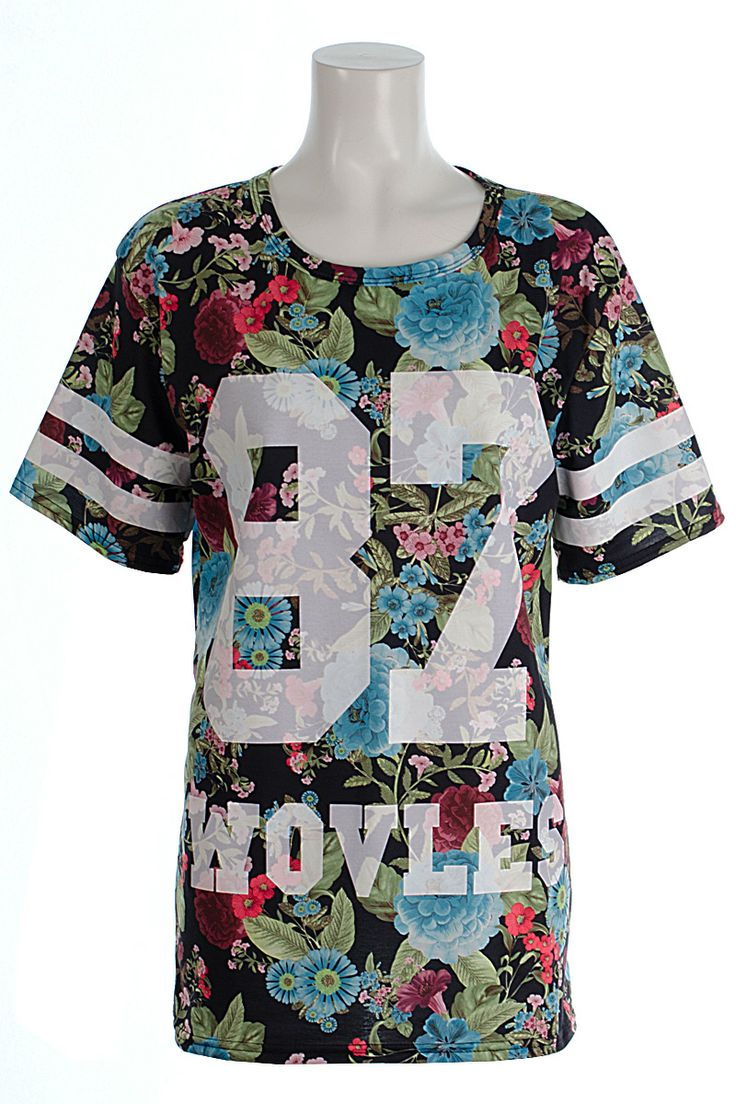 Holly Celebrity Style Floral Print Oversized 87 Tee - See more at: http://www.fuchia.co.uk/products/clothing/tops/holly-floral-print-oversized-87-tee.aspx#sthash.E61hk46f.dpuf