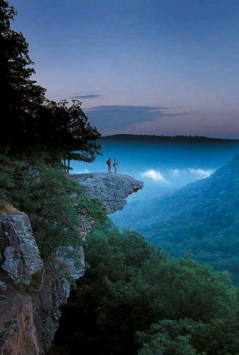 Whitaker Point, NC. Beautiful but don't think I would chance that cliff.