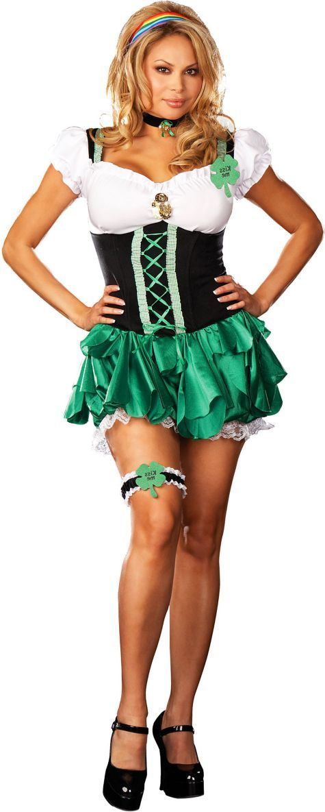 Adult Plus Size Good Luck Charm Costume - Party City  Costumes  Sexy Halloween Costumes, Halloween Costumes For Kids, Halloween Costumes-2320