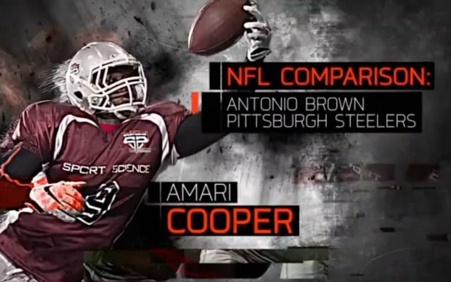 WATCH: Amari Cooper is Antonio Brown and Kevin White is Julio Jones - CBSSports.com