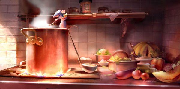 Resultat De Recherche D Images Pour Restaurant Ratatouille Cuisine Art Conceptuel Disney Art Disney Ratatouille Dessin Anime