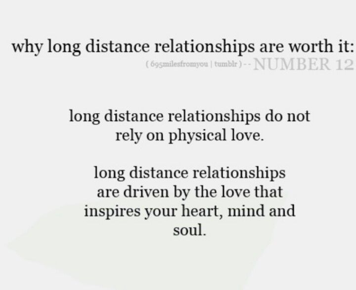 long distance relationship he disappeared and reappeared