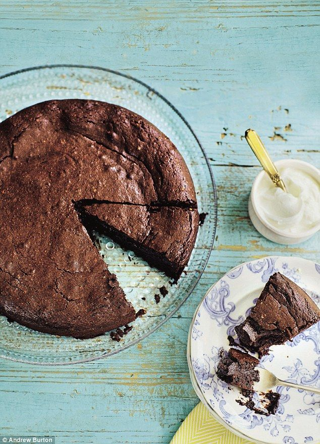This chocolate cake is just so chocolatey and gooey that you will find yourself making it again and again