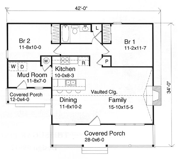 Best Tiny House Plans Images On Pinterest Cottage House Plans