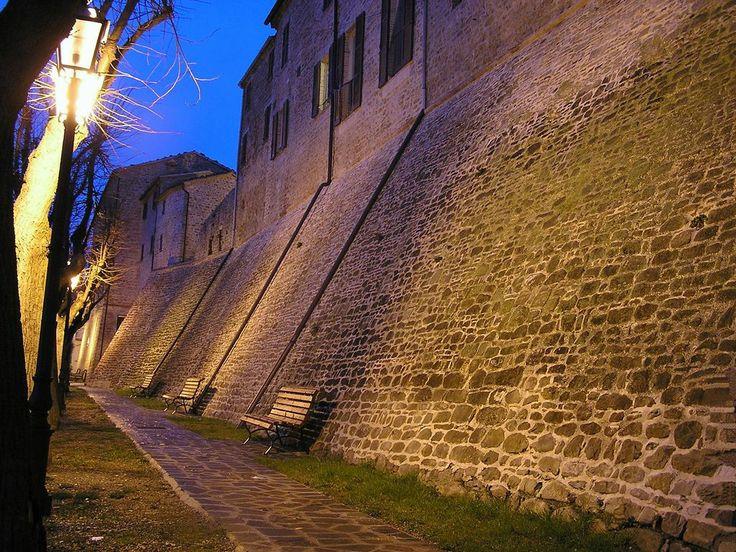 #Staffolo - Mura medievali