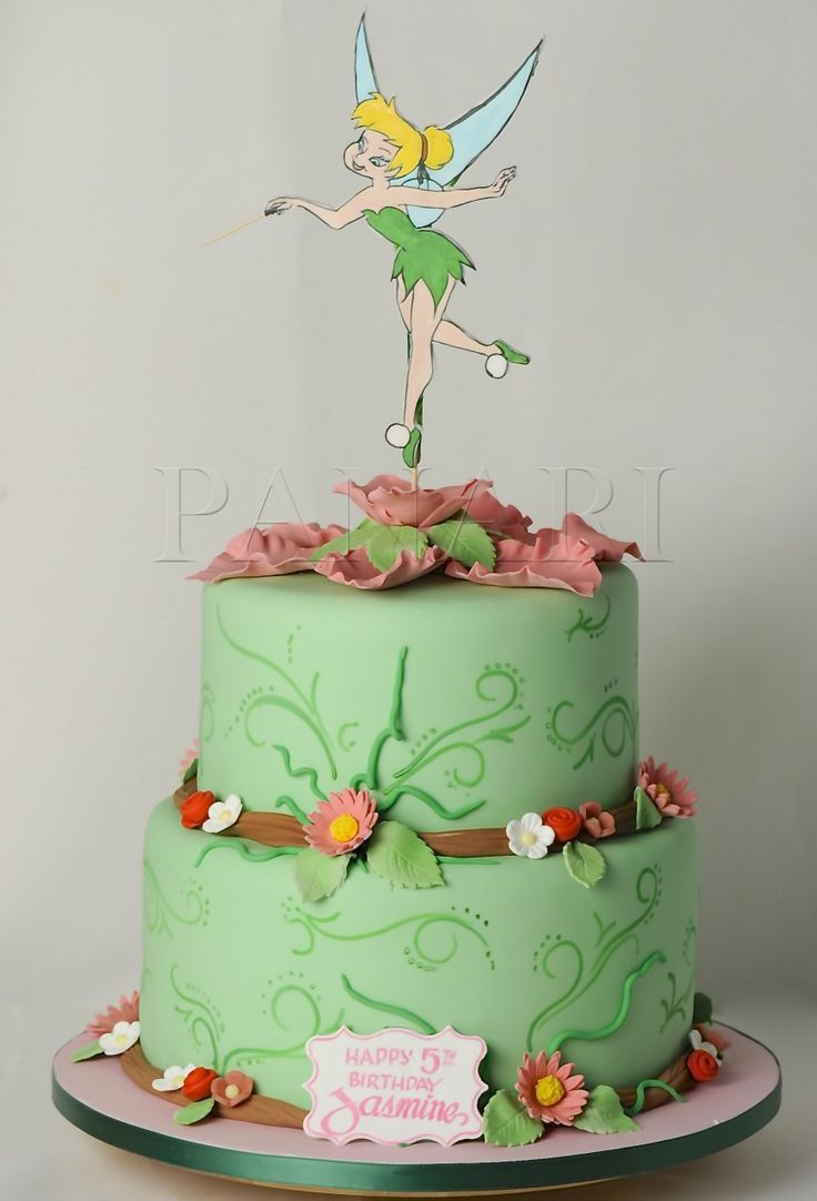 25 Best Images About Tinkerbell Cakes On Pinterest