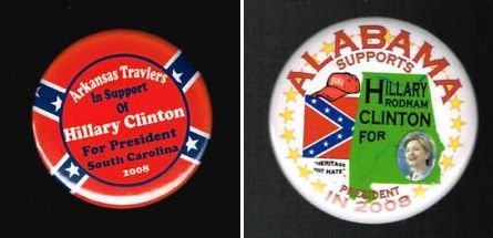 » Obama And Hillary Both Had No Problem Using Confederate Flag During Presidential Campaigns