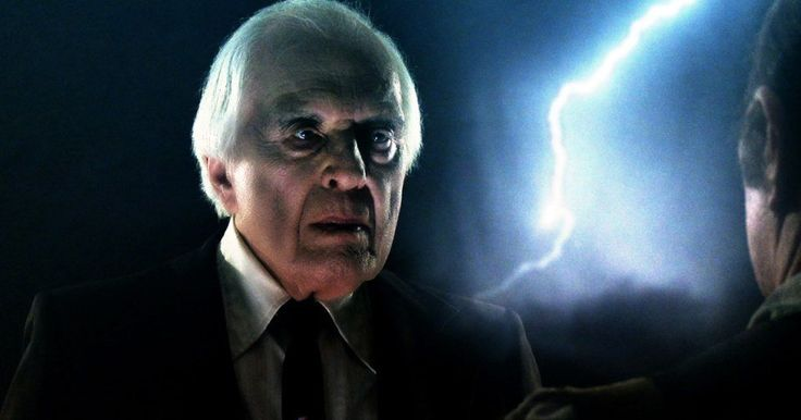 Phantasm: Ravager Photos Reveal the Tall Man, Reggie -- Angus Scrimm returns one last time as The Tall Man in the Phantasm franchise finale Ravager, hitting theaters next month. -- http://movieweb.com/phantasm-ravager-photos-tall-man-reggie/
