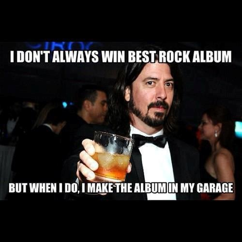 """haha! from """"Dave Grohl Should Host SNL"""" facebook page."""