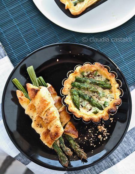 Quiche di asparagi, da Claudia Castaldi