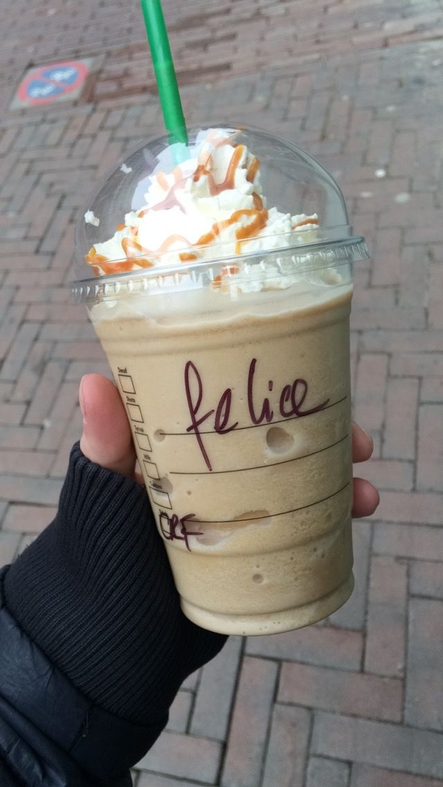 Starbucks wrote my name wrong.... Again!