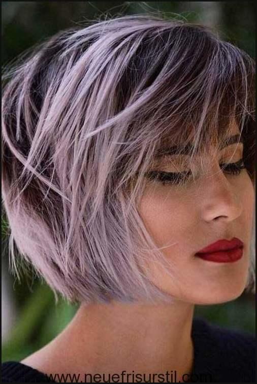 Lila Kurze Haare Farbe   Kurzes haar   Pinterest   Kurze haare   Damen Style   #Kurzhaarfrisuren  kurzhaarfrisure #kurzhaarfrisurendamen  The post Lil…