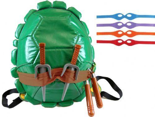 Teenage Mutant Ninja Turtles Combat Gear Shell Backpack