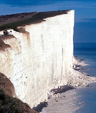 White Cliffs of Dover Beach England